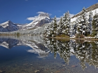 Mt. Wilbur Winter Reflection