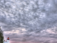 Bass Harbor Lighthouse Clouds