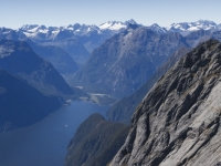 Up In The Air Over Milford Sound 1