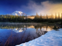 Mt. Rainier At Dawn