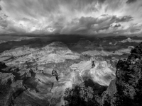 Storm Coming My Way - Hopi Point, South Rim- Grand Canyon National Park