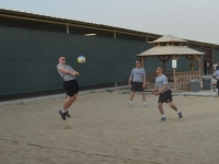 Soldiers Vollyball