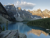 A Classic View Of Moraine Lake
