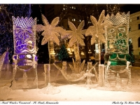 Ice Sculptures At St. Paul Winter Carnival