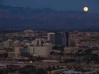 Full Moon Over Tucson