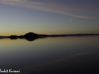 Sunset Over Myvatn' Lake