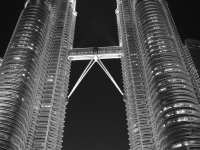 An Evening At The Petronas Twin Towers