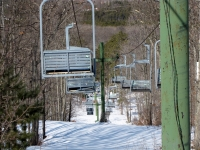 Retired Chairlift