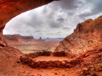 False Kiva - Canyonlands Np