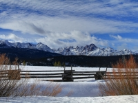 Winter In The Sawtooths