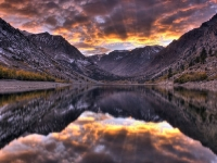 Eastern Sierra Fall Sunset