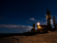 Point Betsie Light @ Night
