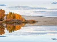 St. Anthony Dunes Reflected