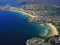 Manly And Freshwater Beaches On Sydney's Northern Beaches