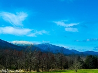 View At The In Trance Of Cades Cove In The Great Smoky Mountains.