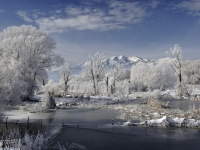 Ice And Snow - Middle Provo River