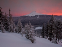 Fire And Ice - Mt Hood
