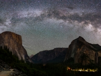 Milky Way Over Yosemite Valley