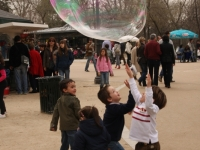 Popping Bubbles In Madrid