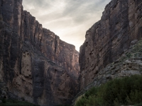Sunset At Santa Elena Canyon