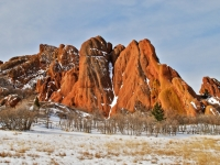 Roxborough Park Winter