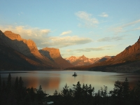 Sunrise Over St. Mary Lake