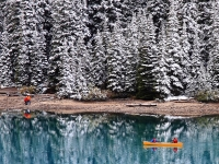 1st Snow At L Moraine