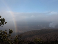 Rainbow Over Kilauea