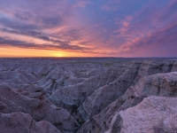 Dawn In The Badlands
