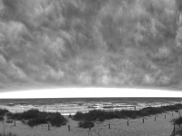 Storm Passing Over Oak Island