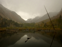 Approaching Winter Storm At Beaver Damns, Lundy Canyon