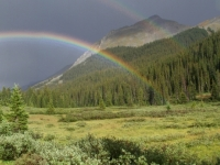 Rainbows Near The Divide