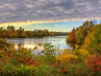 Pine River Autumn