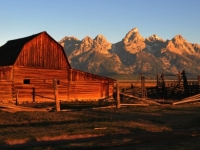 Sunrise At The Tetons