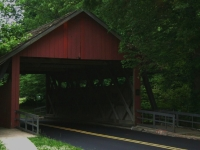 Covered Bridge In Cherry Hill