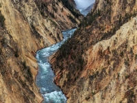 Lower Falls & The Grand Canyon Of The Yellowstone
