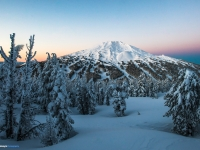 Mt Bachelor Sunrise From Tumalo Mountain
