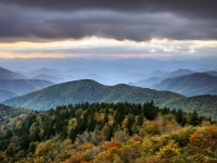 Boundless - Blue Ridge Parkway Autumn Sunset Nc