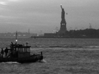 New York Harbor -- Work Day Dusk
