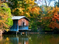Seven Pines Lake Boat House