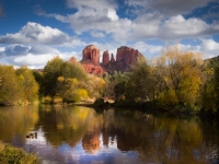 Reflections Of Cathedral Rock