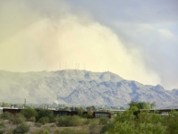 Massive Dust Cloud Over South Mountain