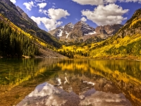 Morning In The Maroon Bells, Colorado