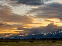 Big Sky Over The Tetons