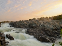 Sunrise At Great Falls