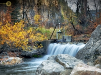 Spearfsih Canyon Spillway