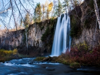 Spearfish Falls In Late Autumn