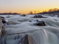 Morning Twilight At Great Falls