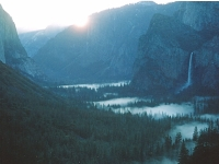 Sunrise Over Yosemite Valley