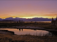 Sunset & Reflections At Mono Lake And The Eastern Sierra